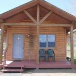 Cabin camping option at Blue Mesa Escape, west of Gunnison Colorado