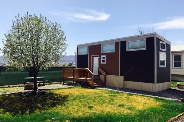 Junction West RV Park (Grand Junction) offers a tiny home and a cabin for those who don't have an RV or a tent