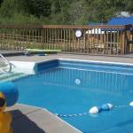 Pool at Lone Duck Campground & Cabins (Cascade CO)