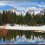 Views at Molas Lake Park & Campground