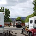 Mountain views at Monument RV Resort and Storage (Fruita, Colorado)