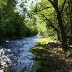 Big Thompson River - Riverview RV Park (Loveland, Colorado)