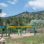 Fun playset at Yogi Bear's Jellystone Park of Estes (Estes Park Colorado)