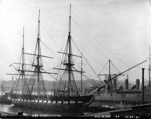 USS Constitution 18 August 1914