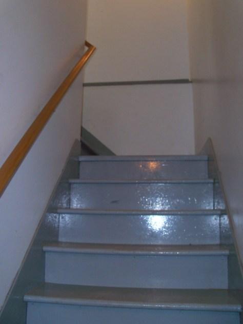 Gros Pin - Escalier sous-sol