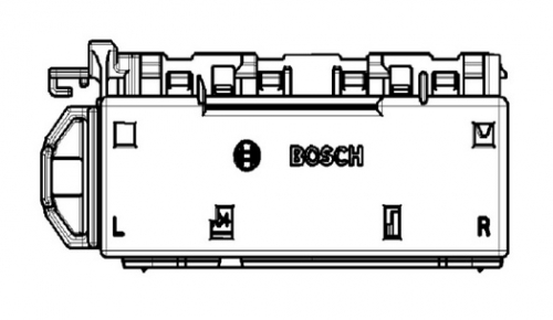 Bosch 192/228P EMS Kontaktträger 96P Kod.C 1928405384