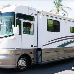 Sofa Sleeper For Camper Pull Out Bed Memory Foam 2000 Coachmen Santara 3602ks Two Slide Rv Motorhome Sale