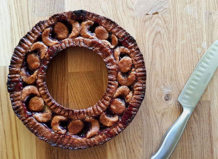 Linzertorte im Omnia gebacken
