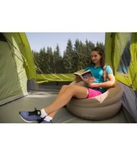 INFLATABLE DELUXE FLOCKED CHAIR - Camper Essentials