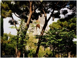 Sagrada Familia - view from the parc