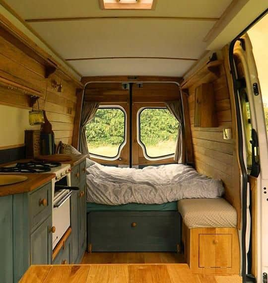 Awesome Camper Van Conversions That'll Inspire You To Hit The Road15