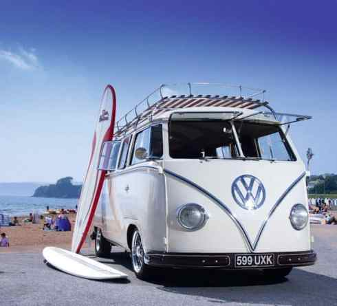 Camper Van Design For VW Bus065