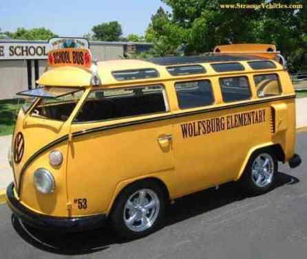 Camper Van Design For VW Bus098