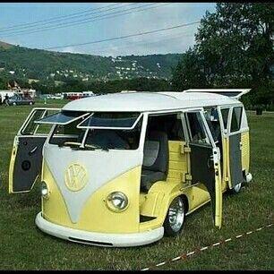 Camper Van Design For VW Bus149