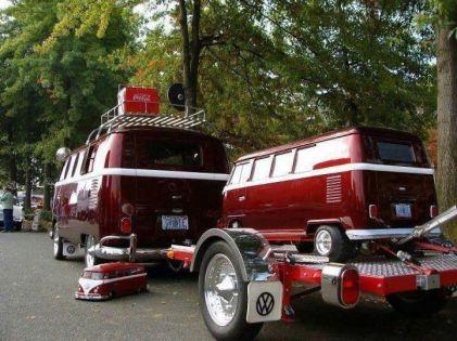 Camper Van Design For VW Bus152