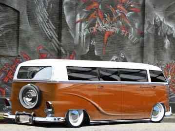 Camper Van Design For VW Bus155