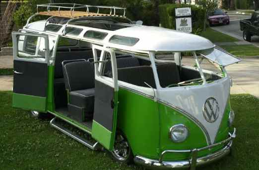 Camper Van Design For VW Bus161