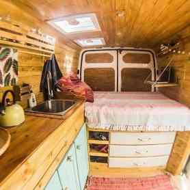 Interior Design For Camper Van10