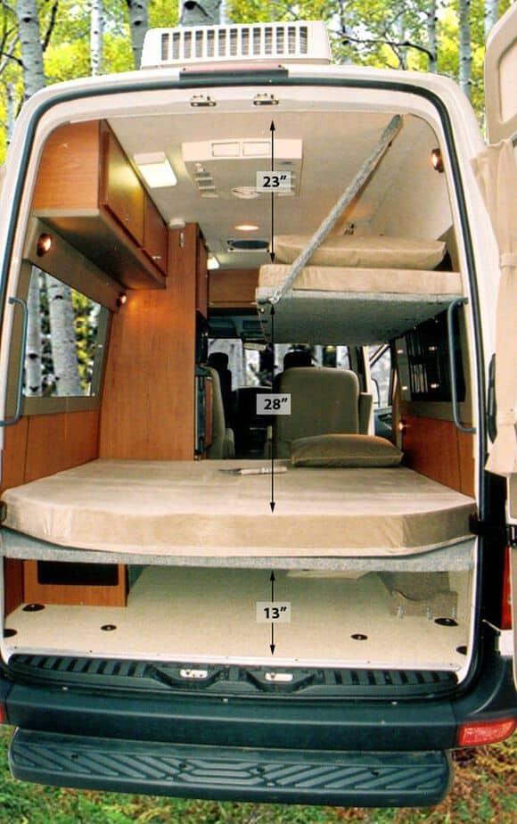 Interior Design For Camper Van19
