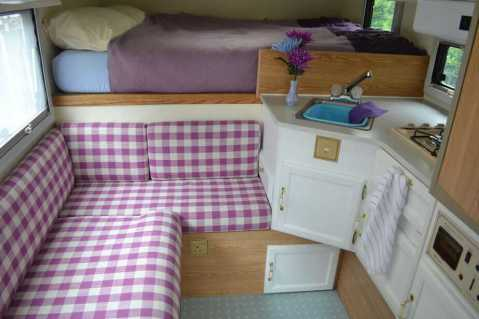 Interior Design For Camper Van29