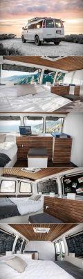 Interior Design For Camper Van34