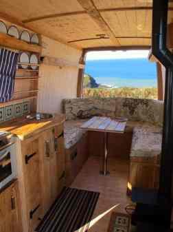 Interior Design For Camper Van46