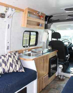 Interior Design For Camper Van55