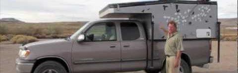 Mobile Rik Built A Homemade DIY Truck Camper10