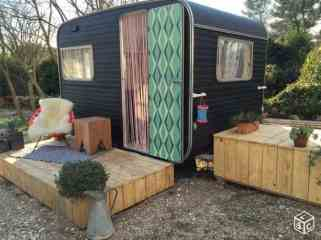 Camper Paint Exterior Remodel And Makeover13