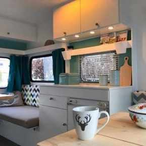 Camper Paint Exterior Remodel And Makeover20