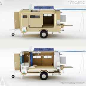 Best Cool Caravans, Camper Vans (RVS) Ideas For Traavel Trailers13