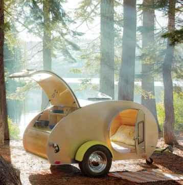 Best Cool Caravans, Camper Vans (RVS) Ideas For Traavel Trailers52