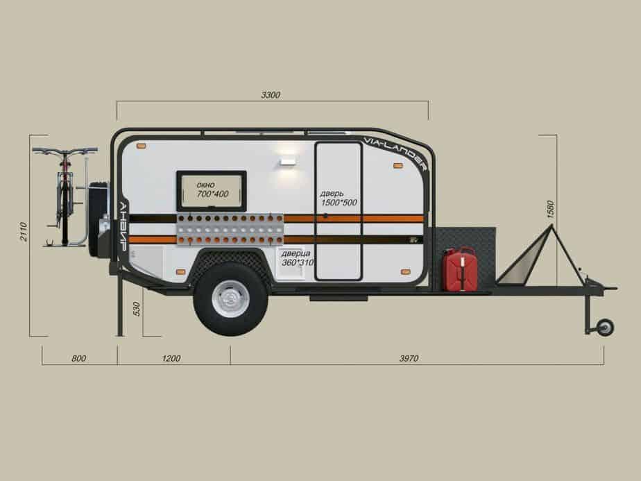 teardrop camper wiring diagram emg 81 85 5 way small campers trailers 23 camperism