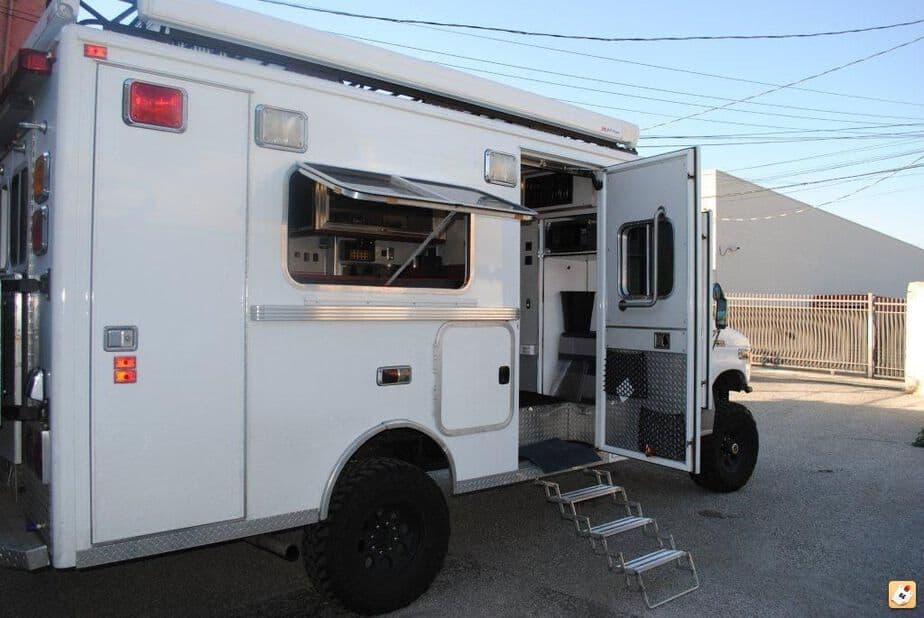 Military Truck Converted To Camper >> Cargo Trailer Camper Conversion - camperism