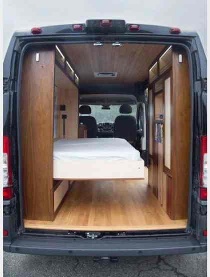 Van Ambulance Cargo Trailer Conversions35