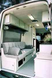 Van Ambulance Cargo Trailer Conversions41