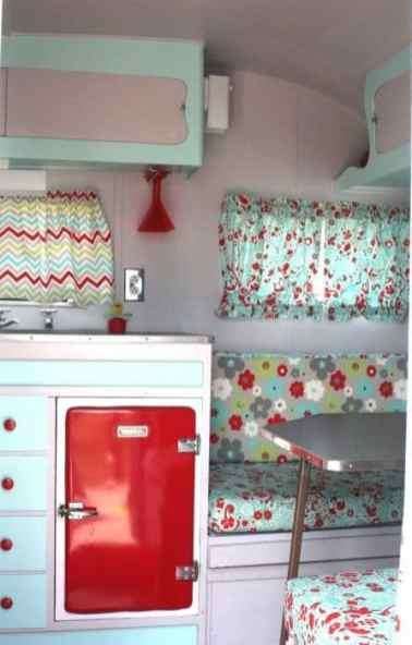Vintage Camper Interior 11