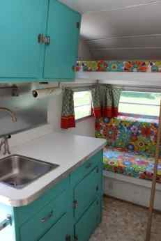 Vintage Camper Interior 38