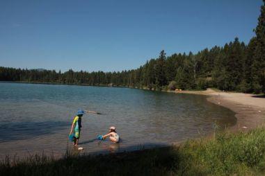 Camping At The Lake 4
