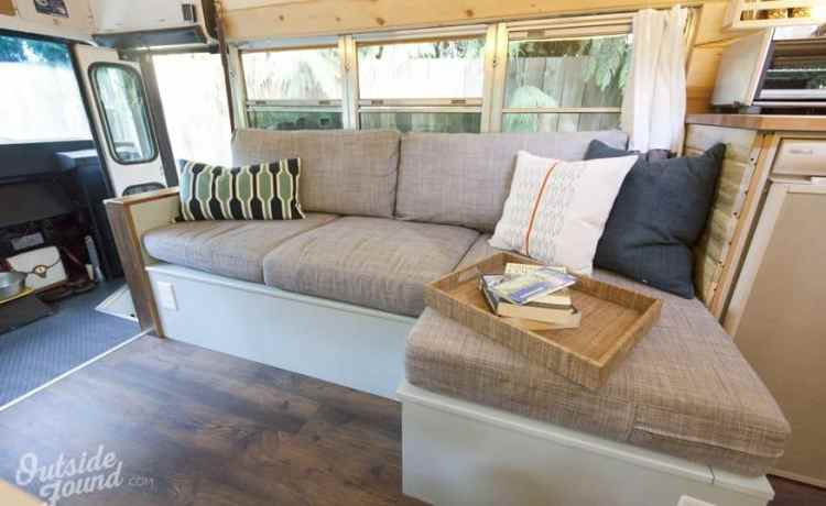 24 Best Short Bus Camper Conversion Ideas | Camperism