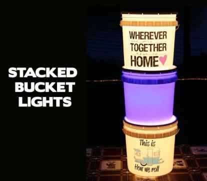 Bucket Lights For Camping 31