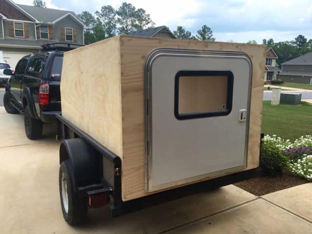 Diy travel trailer Enclosed Homemade Camper Trailer 10 Gas2org 20 Coolest Diy Camper Trailer Ideas Camperism