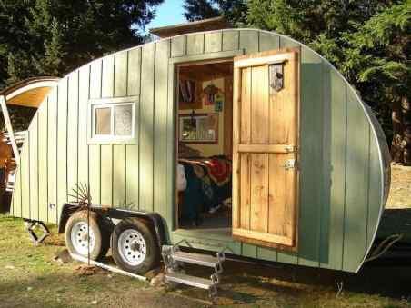 Homemade Camper Trailer 28