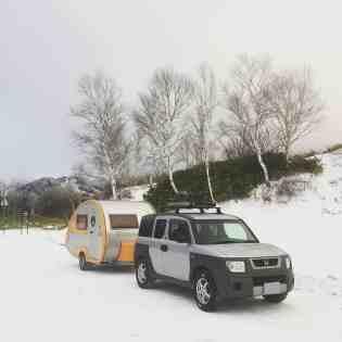 Honda Element Camping 19
