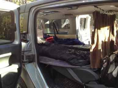 Honda Element Camping 3