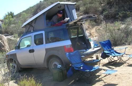 25 Best Honda Element Camping Camperism