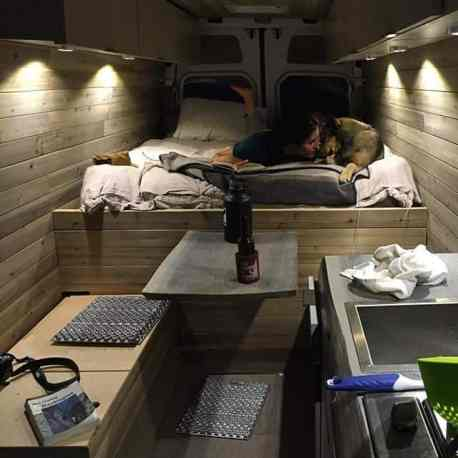 Van Conversion Ideas Layout 25