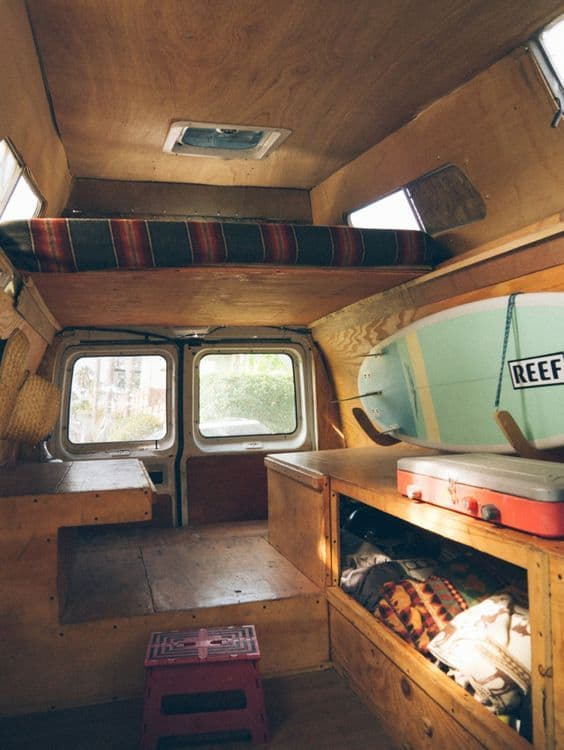 Van Conversion Ideas Layout 3