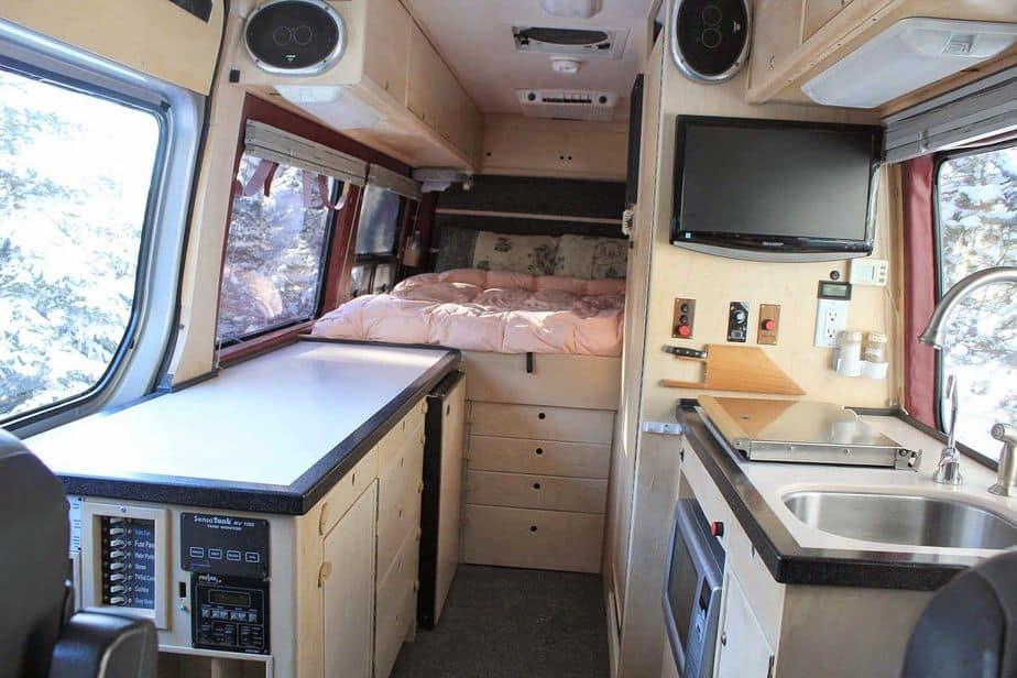 24 Best Sprinter Van Conversion Interiors Camperism
