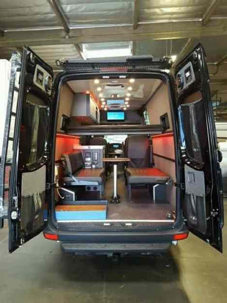 Sprinter Van Conversion Interiors 6